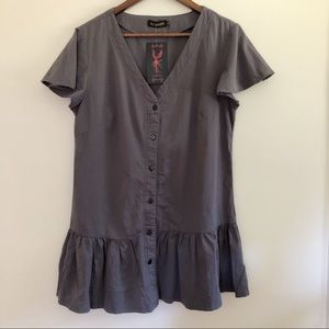 Reborn Button Down Tunic Top